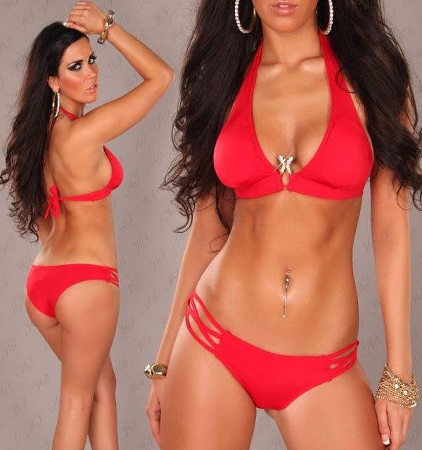 Bikini-TwoSnakes-rot