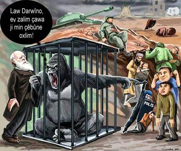 Teorîya Darwîn derew derket